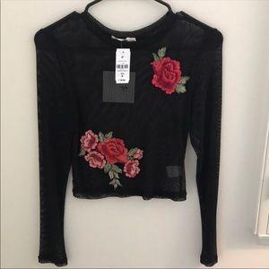 LF Flower Mesh Shirt